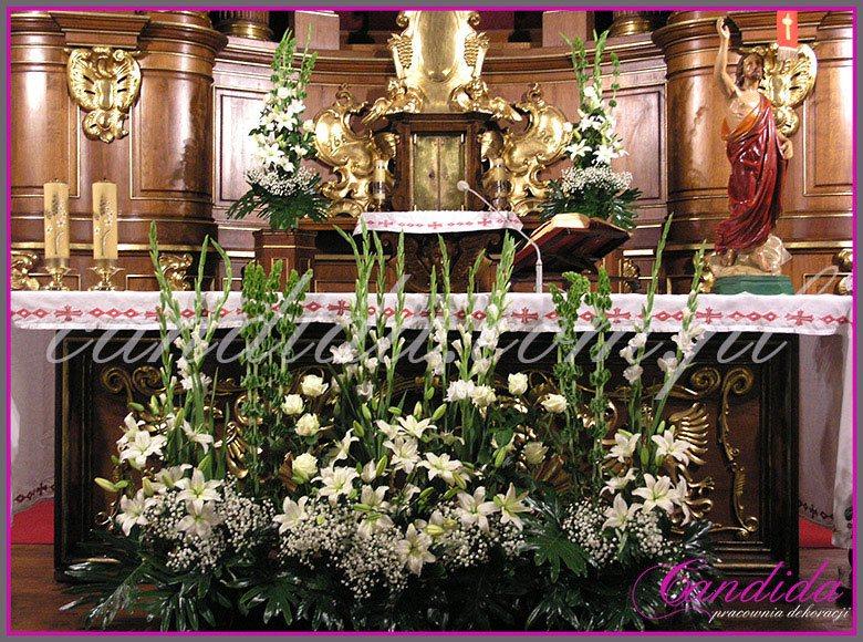 dekoracja komunijna kościoła 41