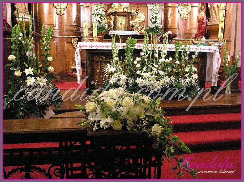 dekoracja komunijna kościoła 39