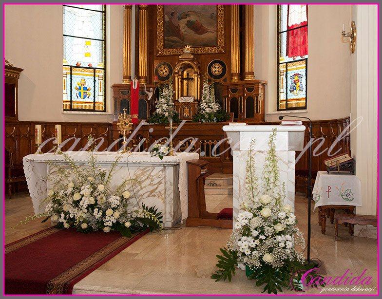 dekoracja komunijna kościoła 29