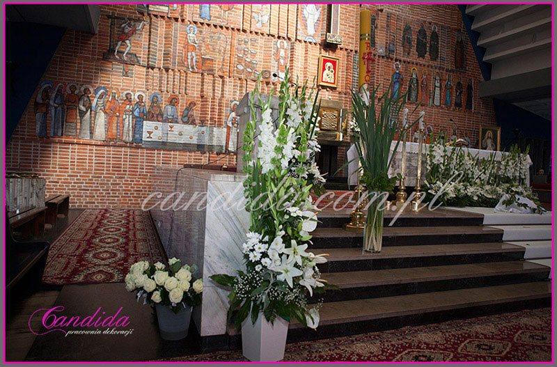 dekoracja komunijna kościoła 6