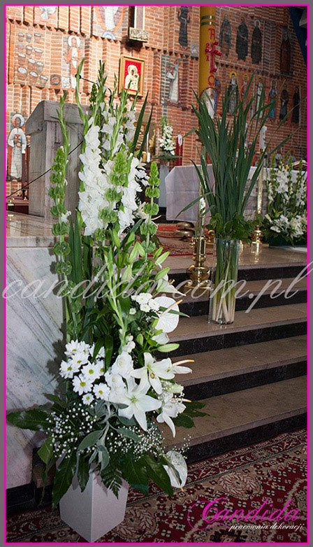 dekoracja komunijna kościoła 5