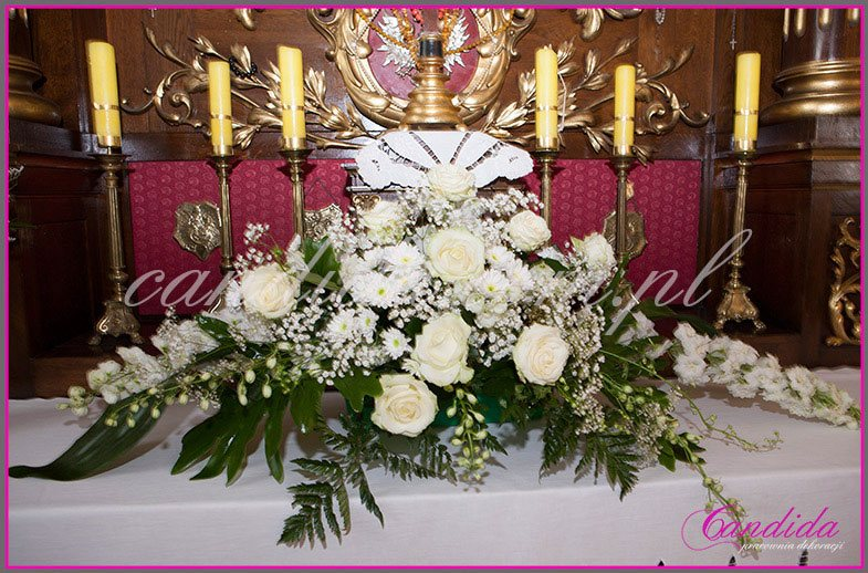 dekoracja komunijna kościoła 27