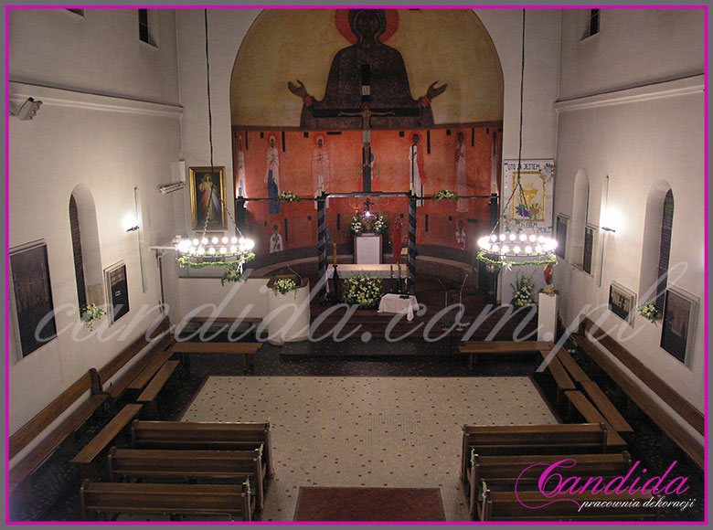 dekoracja komunijna kościoła 18
