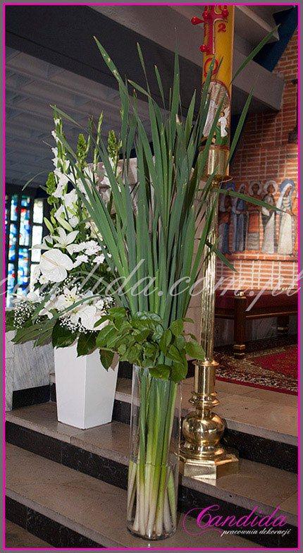 dekoracja kościoła na Komunie 1