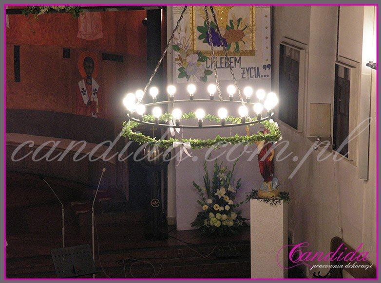 dekoracja komunijna kościoła 7