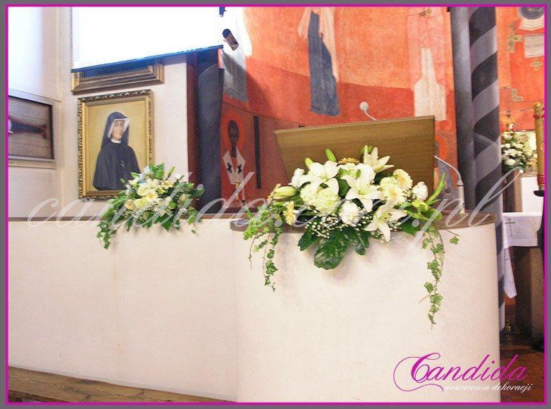 dekoracja komunijna kościoła 14