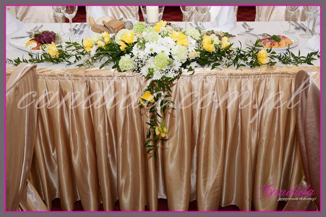 dekoracje stołów sal na przyjęcie komunijne 1