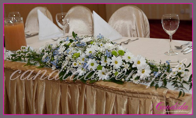 dekoracje stołów sal na przyjęcie komunijne 2