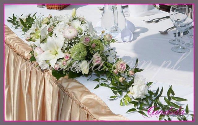 dekoracje stołów sal na przyjęcie komunijne 6