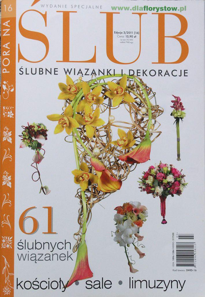 dekoracje komunijne w magazynie Ślub wydanie specjalne 2011/3 1